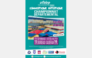 Championnat départemental Jeunes Bordeaux Stehelin 15 & 16 février 2020